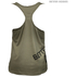 Better Bodies Women's Leisure Raw T-Back Tank Top - Wash Green: Image 2