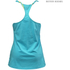 Better Bodies Women's Twisted T-Back Tank Top - Aqua Blue: Image 2