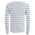 Scotch & Soda Men's Striped Long Sleeved Boat T-Shirt - White: Image 2