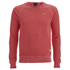 Scotch & Soda Men's Garment Dyed Sweatshirt - Blazing Red: Image 1