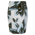Munthe Women's Emirate Neoprene Leaf Print Skirt - Blue: Image 2