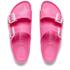 Birkenstock Women's Arizona Slim Fit Eva Double Strap Sandals - Neon Pink: Image 2