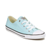 Converse Women's Chuck Taylor All Star Dainty Ox Trainers - Motel Pool/Black/White: Image 4