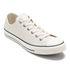 Converse Men's Chuck Taylor All Star Motorcycle Leather Ox Trainers - Parchment/Black/White: Image 4