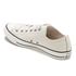 Converse Men's Chuck Taylor All Star Motorcycle Leather Ox Trainers - Parchment/Black/White: Image 5
