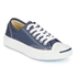 Converse Jack Purcell Unisex Canvas Trainers - Navy/White: Image 2