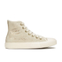 Converse Women's Chuck Taylor All Star Distressed Sequins Hi-Top Trainers - White/Black: Image 1