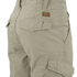 Threadbare Men's Hulk Cargo Shorts - Stone: Image 3