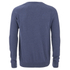 Threadbare Men's Tallin Raglan Crew Neck Jumper - Denim Marl: Image 2