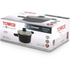Tower T90922B Taper Ceramic Coated Casserole Dish - Black - 24cm: Image 6