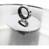 Morphy Richards 79006 Accents Saute Pan with Glass Lid - White - 28cm: Image 3