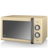 Swan SM22070CN Manual Microwave - Cream - 900W: Image 1