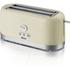 Swan ST10090CREN 4 Slice LongSlot Toaster - Cream: Image 1