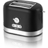 Swan ST10020BLKN 2 Slice Toaster - Black: Image 1