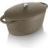 Tower IDT90004 Cast Iron Oval Casserole Dish - Latte - 29cm: Image 1