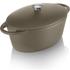 Tower IDT90004 Cast Iron Oval Casserole Dish - Latte - 29cm: Image 1