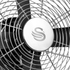 Swan SFA1010BN Retro Desk Fan - Black - 12 Inch: Image 2