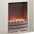 Warmlite WL45023 Bluetooth Fireplace Suite - White: Image 2
