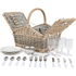 Coast & Country CC10005 4 Person Picnic Hamper: Image 2