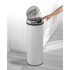 Morphy Richards 974144 Round Sensor Bin - White - 50L: Image 2