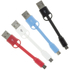 Kit USB to Micro USB Keyring Data & Charge Cable - Blue: Image 5