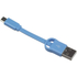 Kit USB to Micro USB Keyring Data & Charge Cable - Blue: Image 3