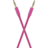 KitSound 1m Flat Aux Cable - Pink: Image 2