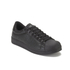 Crosshatch Men's Reptile Low Top Trainers - Black: Image 4
