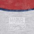 Marvel Captain America Sheild Heren T-Shirt - Grey Marl: Image 3