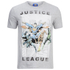 DC Comics Men's Justice League Flying T-Shirt - Grey Marl: Image 1