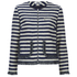 Sonia by Sonia Rykiel Women's Tweed Striped Jacket - Navy/Ecru: Image 1