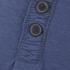 Tokyo Laundry Men's Arturo Button Long Sleeve Top - Cornflower Blue: Image 5