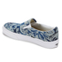 Vans Unisex Classic Slip-on Indigo Tropical Trainers - Blue/True White: Image 4