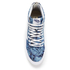 Vans Women's Sk8-Hi Slim Zip Indigo Tropical Trainers - Blue/True White: Image 3
