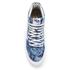 Vans Women's Sk8-Hi Slim Zip Indigo Tropical Trainers - Blue/True White: Image 3