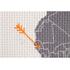 Carte du monde à broder: Image 5