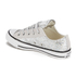 Converse Women's Chuck Taylor Textile Glitter OX Trainers - Silver/Mouse/White: Image 4