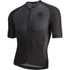 Nalini Crit Ti Short Sleeve Jersey - Black/Grey: Image 1