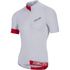Nalini Curva Ti Short Sleeve Jersey - White/Red: Image 1