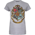 Harry Potter Hogwarts Logo Damen T-Shirt - Grau: Image 1