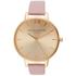 Olivia Burton Women's Big Dial Watch - Dusty Pink/Gold: Image 1
