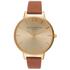 Olivia Burton Women's Big Dial Watch - Tan/Gold: Image 1