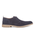 Selected Homme Men's Royce Suede Shoes - Navy Blazer: Image 1