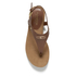 Lauren Ralph Lauren Women's Kally Leather Sandals - Polo Tan: Image 3