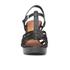 Lauren Ralph Lauren Women's Shania Heeled Sandals - Black: Image 4