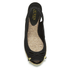 Lauren Ralph Lauren Women's Camille Canvas Wedged Espadrilles - Black: Image 3