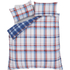 Catherine Lansfield St. Ives Check Bedding Set - Blue: Image 2