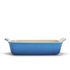 Le Creuset Stoneware Medium Heritage Rectangular Roasting Dish - Marseille Blue: Image 3
