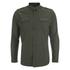 Brave Soul Men's Charlie Pocket Long Sleeve Shirt - Khaki: Image 1