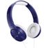 Pioneer SE-MJ503 Foldable DJ Style Headphones - Blue: Image 1